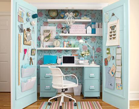 ... You Can Turn An Armoire Into A Functional Little Office. There Are Even  Pre Made Computer Armoires If You Donu0027t Have The Time To Create One  Yourself.