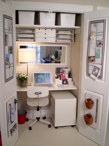 computer desk armoire plans