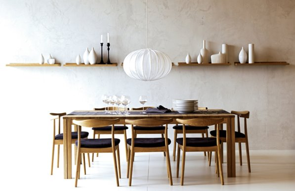 Lairds Landing And Scandinavian Dining Rooms Bleue Pi Ce