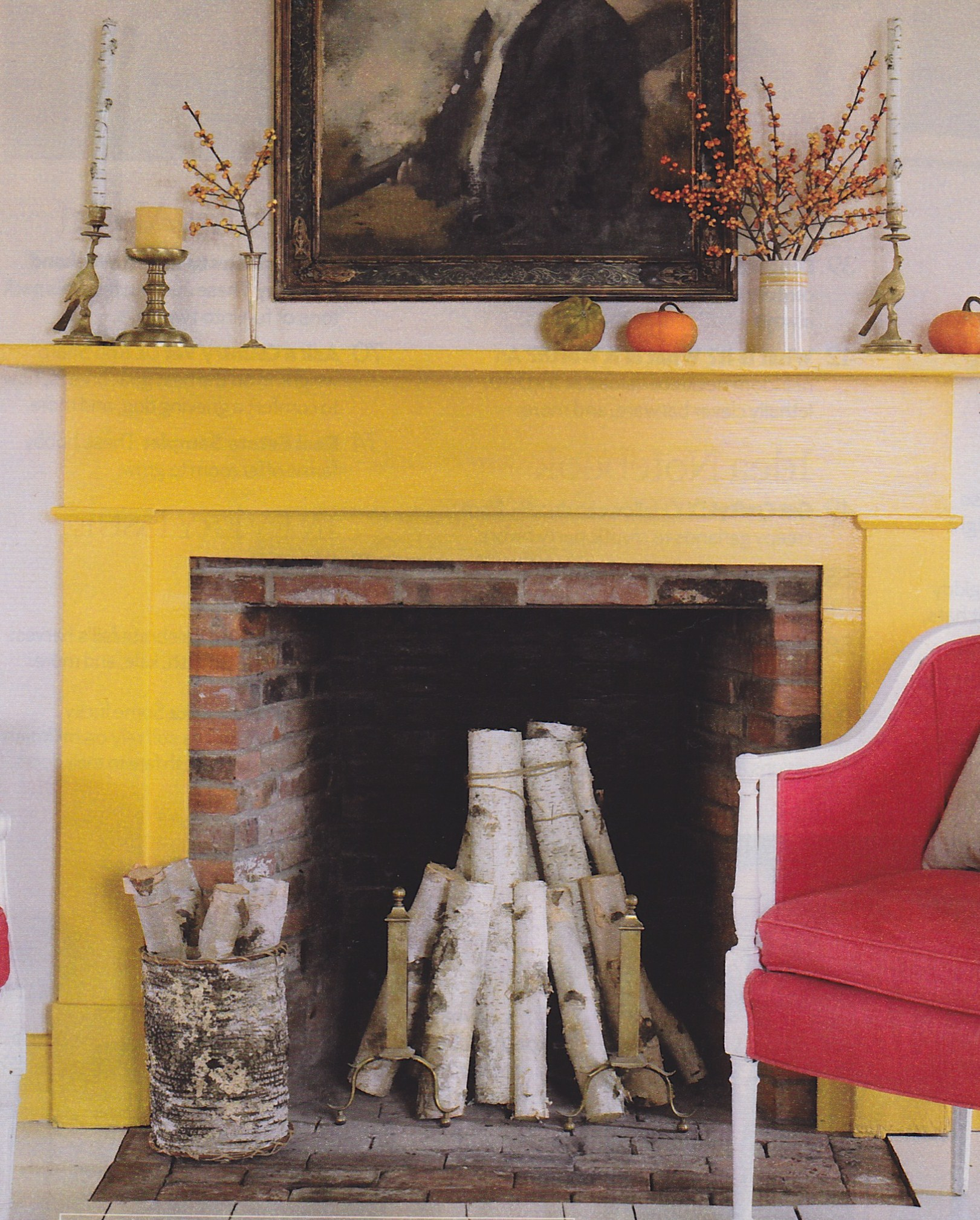Summer Fireplace Solutions | Bleue Pièce