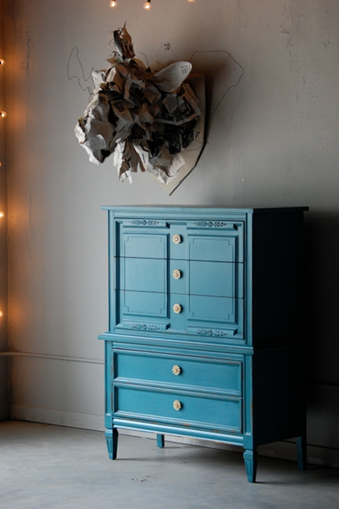 Painting Furniture Bleue Pi Ce
