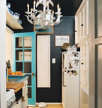 12 kitchens in black bleue pi ce - Decoration bleu turquoise ...