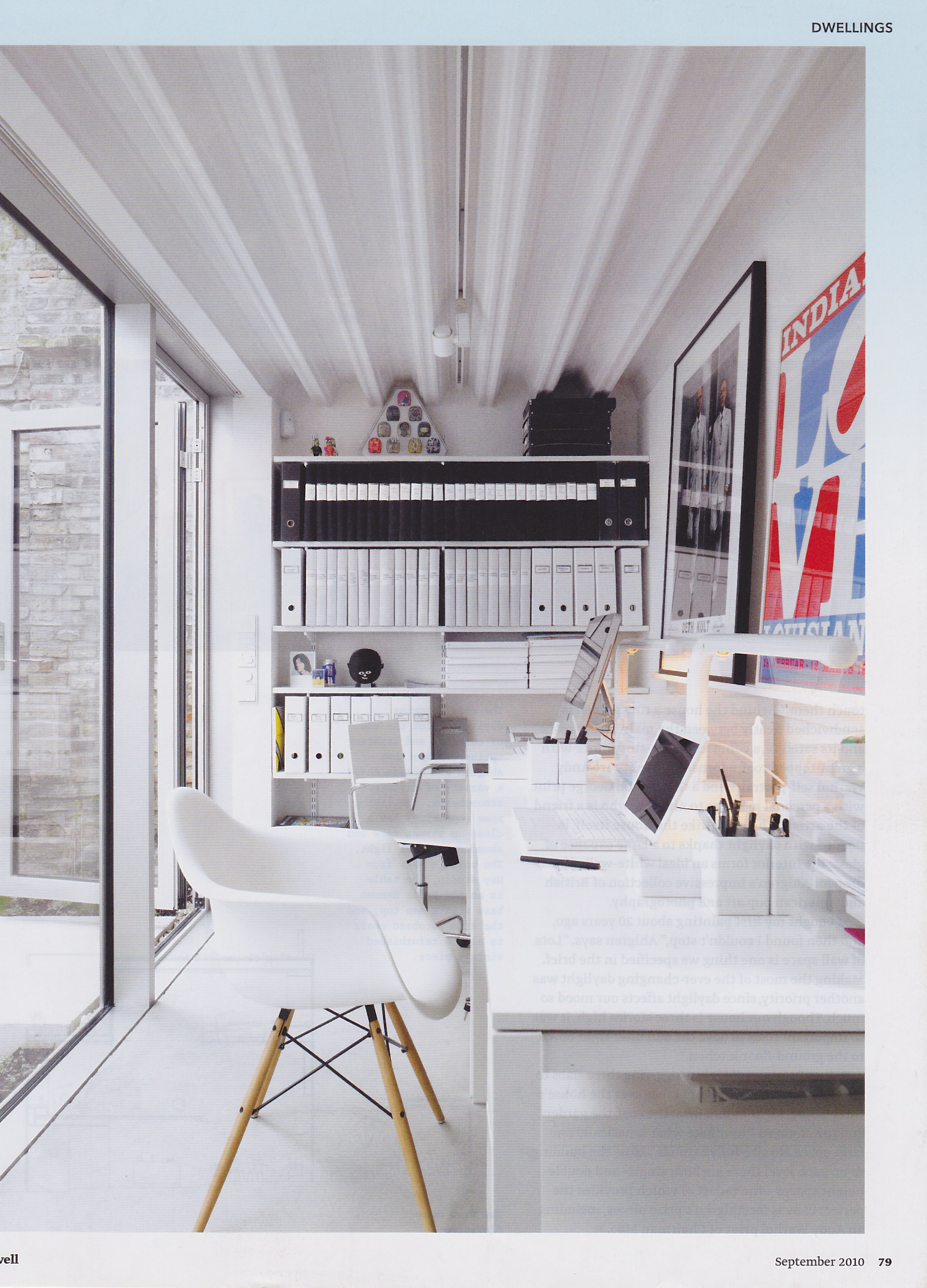 Home Office For Two : Ideas | Bleue Pièce