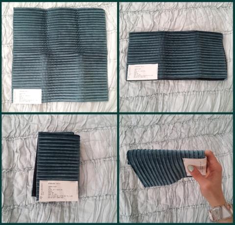Folding Fabrics Savannah Bleue